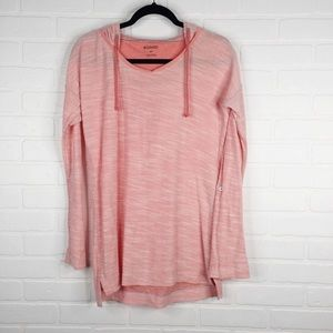 Columbia Hoodie Long Sleeve Light Weight Pink